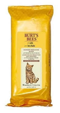 burts bees dander-reducing-cat-wipes