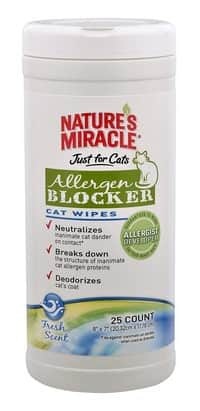 natures-miracle-just-for-cats-allergen-blocker-cat-wipes